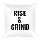 Rise & Grind Pillow - Future Professionals Apparel, LLC.