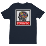 Knowledge is Beautiful - Men's Tee - Future Professionals Apparel, LLC.