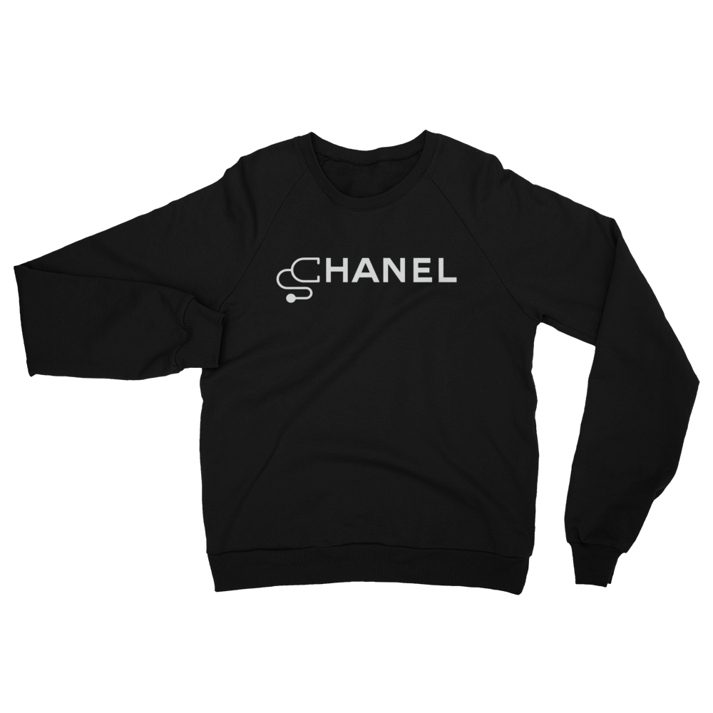 Chanel Medical - Women's  Raglan Sweatshirt - Future Professionals Apparel, LLC.