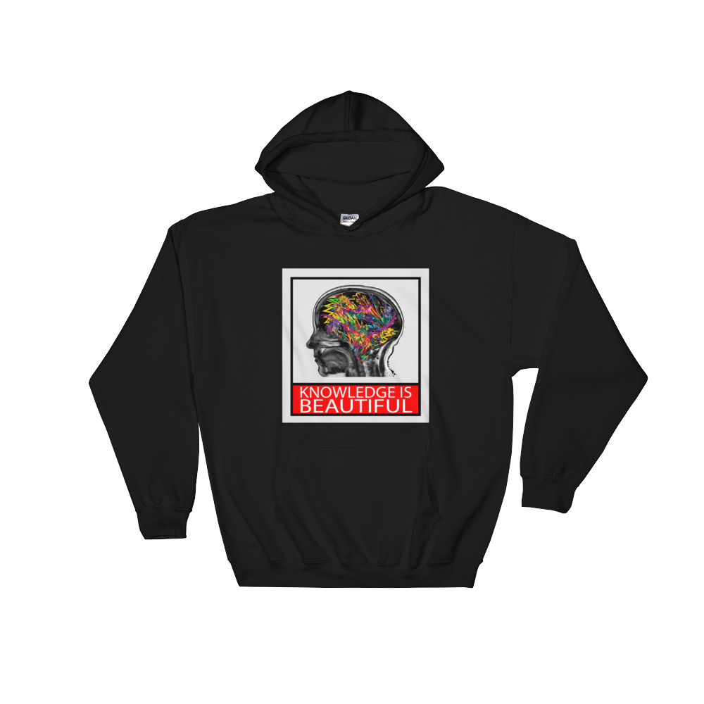 Knowledge is Beautiful Hoodie - Unisex - Future Professionals Apparel, LLC.