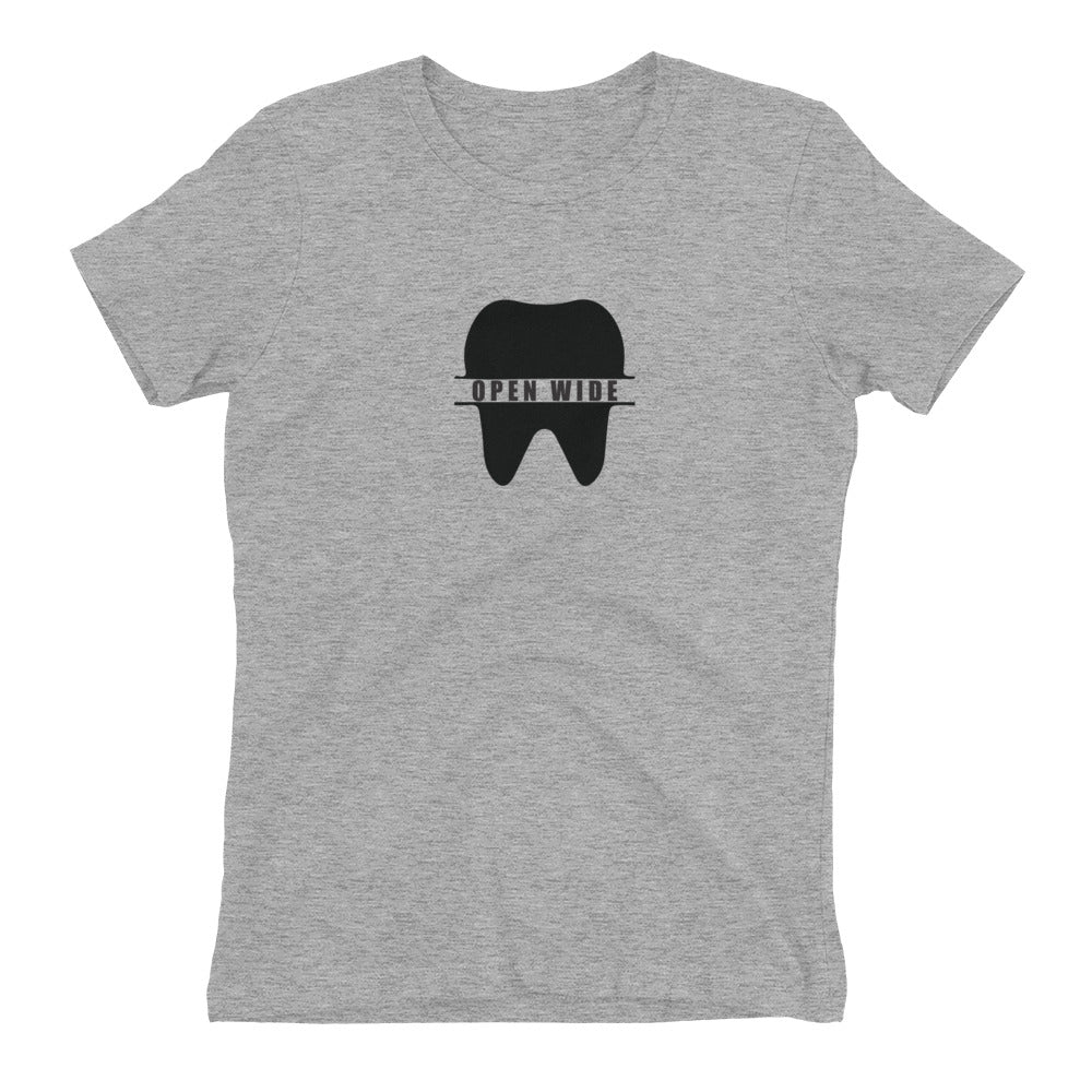 Open Wide Women's Tee - Future Professionals Apparel, LLC.