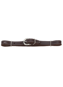 Chocolate Curb Strap - Andrea Equine