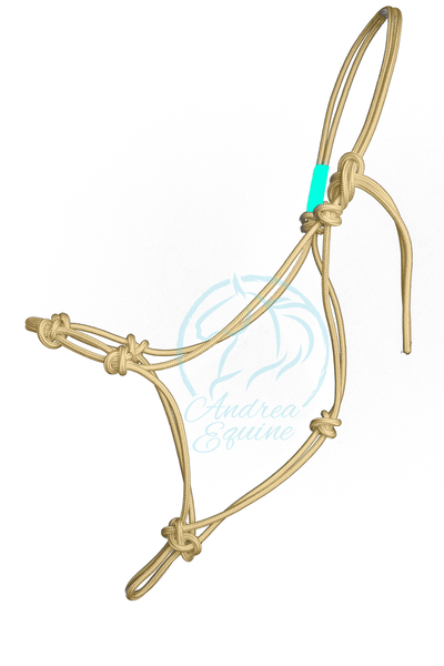 Stiff 4-Knot Clinician Training Halter - Andrea Equine