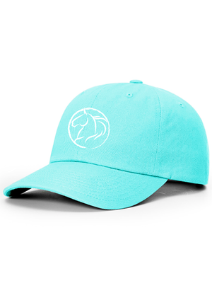 Andrea Equine Turquoise Dad Hat - Andrea Equine
