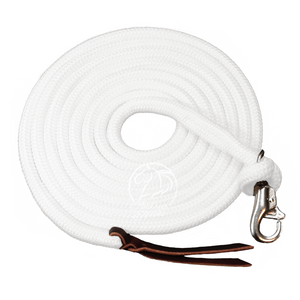 14 Ft Clinician Weighted Lead Rope w/ Snap - Andrea Equine