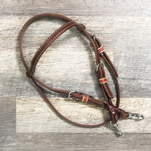 """Cardinal"" Futurity Quick Change Training Browband Headstall"
