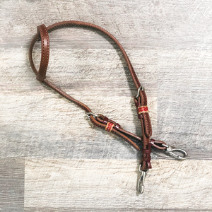 """Cardinal"" Futurity Quick Change Training One Ear Headstall"