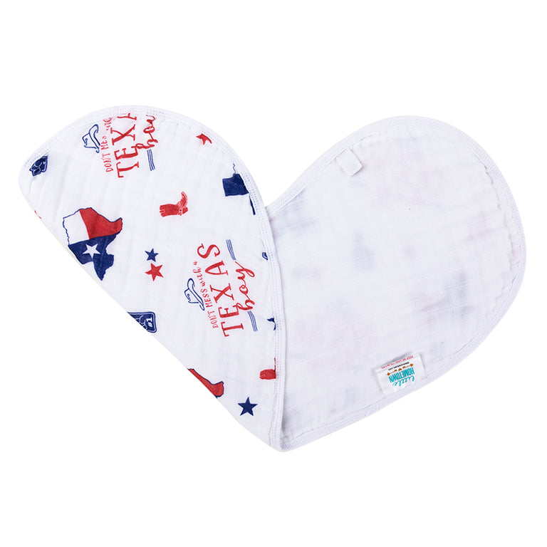 2-in-1 Burp Cloth and Bib: Hey Yall!