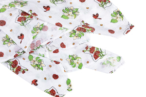 Ohio (Floral) Swaddle Blanket