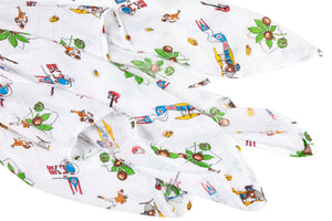 Ohio Baby Swaddle Blanket