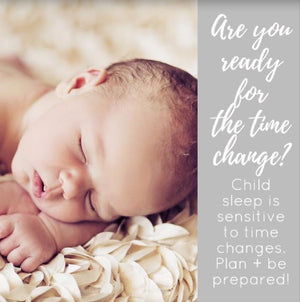 Baby Sleep is Affected by Time Changes: Are You Prepared?