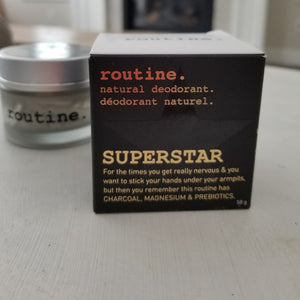 Need Better Deodorant? Look No Further. Meet Routine SUPERSTAR Deodorant.