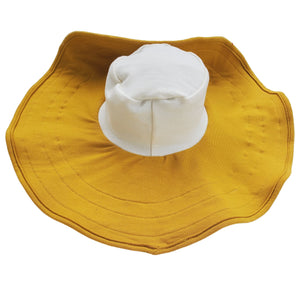 Mobobaby Eco Breastfeeding + Sun Hat - Autumn Harvest