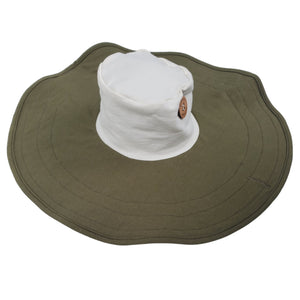 Mobobaby Eco Breastfeeding + Sun Hat - Earthy Olive