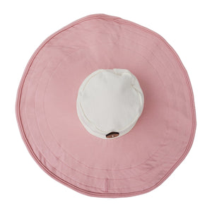 Mobobaby Eco Breastfeeding + Sun Hat - Pink Petal