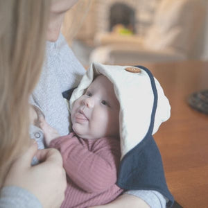 Mobobaby Eco Breastfeeding + Sun Hat - Natural