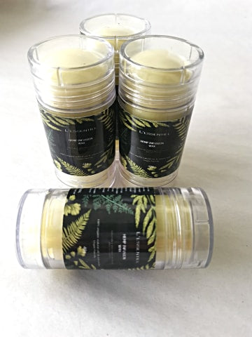 Hemp infusion wax stick 40g