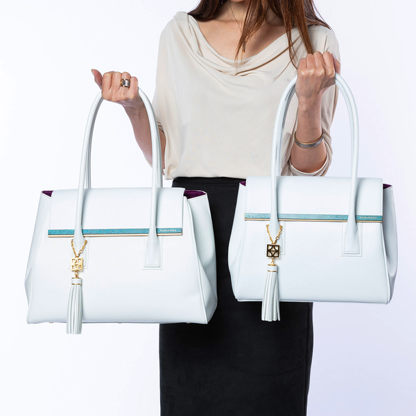 ARIANNAⅡ Sabae-Clear:shoulder bag (WH_BE)