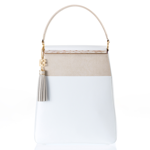 EMMA Sabae-Clear: 2way shoulder bag (WH_IVSN)
