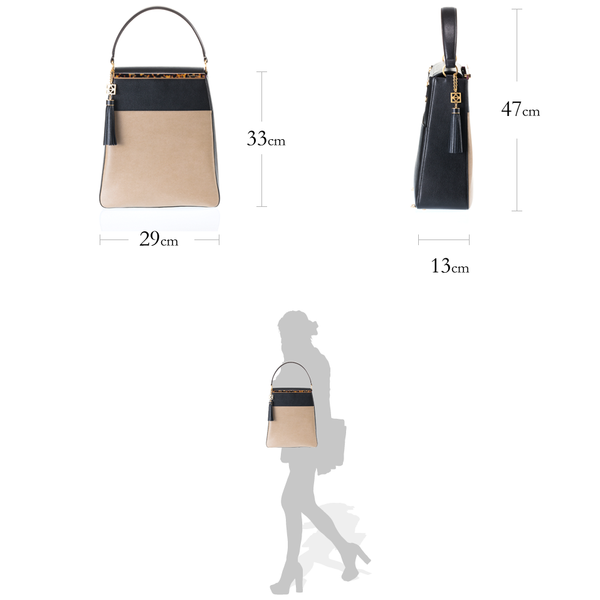 EMMA Sabae-Clear: 2way shoulder bag (BE_GD)