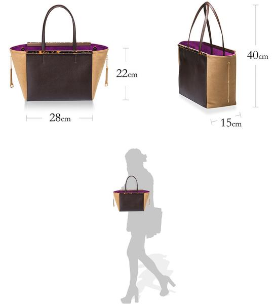 GINA II Sabae-Clear: Tote bag(GD_IVSN)