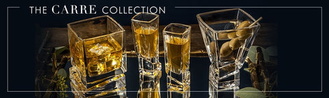 Carre Collection Glassware - designed by Tammy Carmona