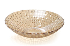 Iridescent Gold Fruit Bowl