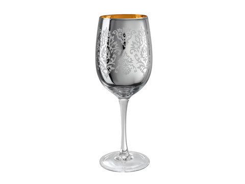 Brocade Wine, 15 OZ., Silver
