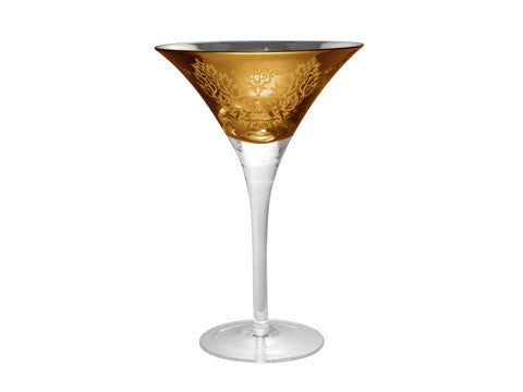 BROCADE MARTINI, 8 OZ., BELL GOLD