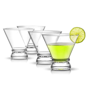 Afina Stemless Martini Glasses - 8 oz - Set of 4