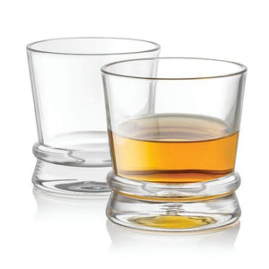 Afina Whiskey Glasses - 10 oz - Set of 2