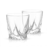 Atlas Crystal Whiskey Glasses & Decanter - 5-Piece Set