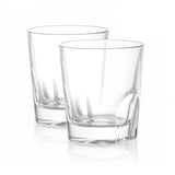Carina Crystal Whiskey Glasses - 8.4 oz - Set of 2