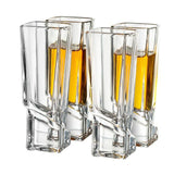 Carre Shot Glasses - 1.8 oz - Set of 4