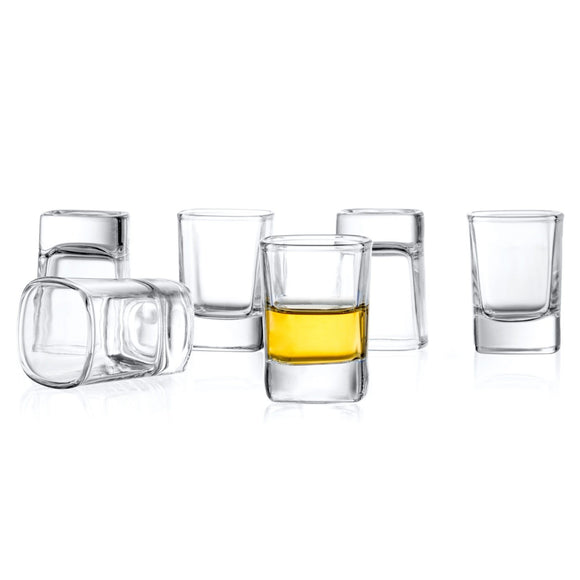 City Whiskey Shot Glass - 2 oz - Set of 6