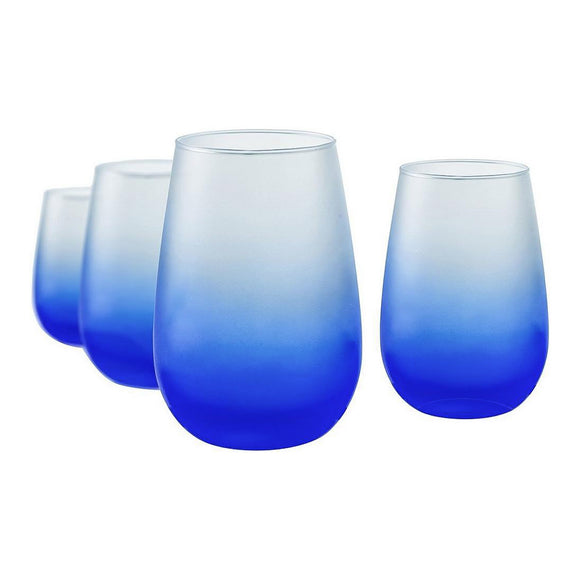 Frost Blue Stemless, 16 oz, Set of 4