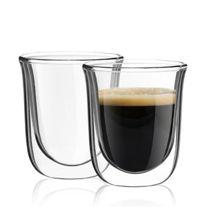 Javaah Double-Wall Insulated Espresso Cups 2 oz - Set of 2