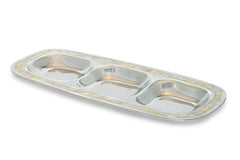 Pearl 3-Sectioned Tray