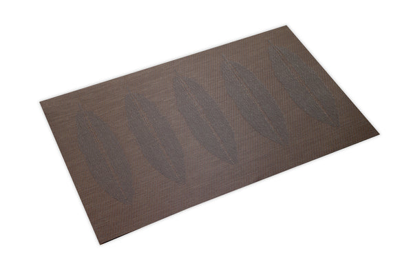 Brown Leaf 4 Pc. Placemat