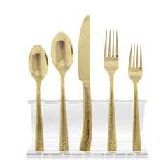 Paris Hammered Gold 20 Pc Set