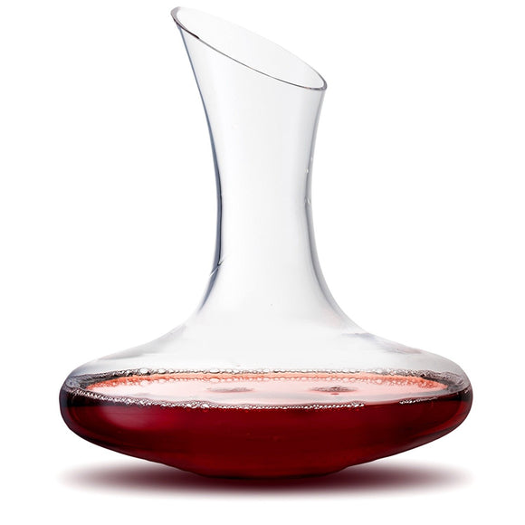 Lancia Hand Blown Crystal Red Wine Decanter - 54 oz