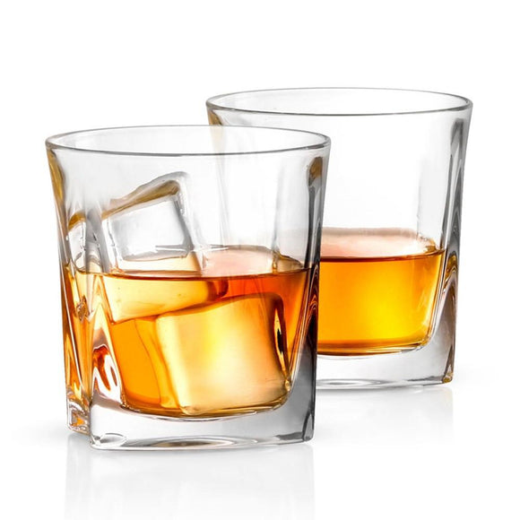 Luna Crystal Whiskey Glasses & Decanter - 5-piece Set