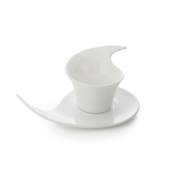 Monroe Coffee Cup & Saucer Set