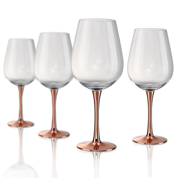 Rose Stem Goblet, 22 oz, Set of 4