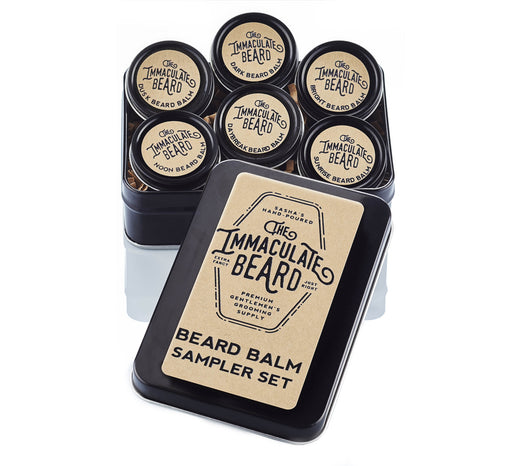 The Immaculate Beard Natural Beard Balm Sampler Kit