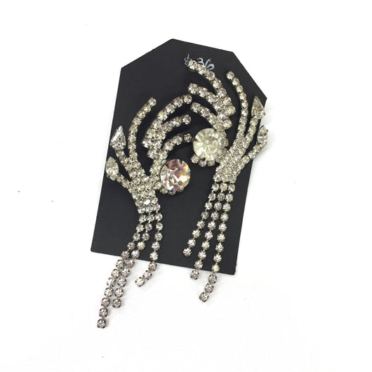 Vintage Fabulous Rhinestone Earrings