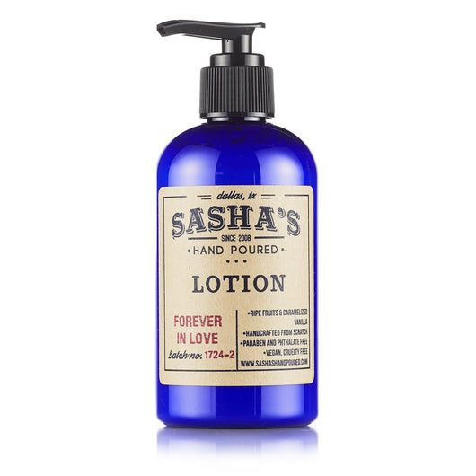 Sasha's Hand Poured All Natural Moisturizing Body Lotion