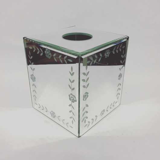 Mirrored Tissue Box