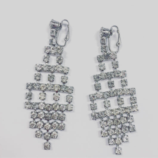 Vintage Drop Chandelier Earrings