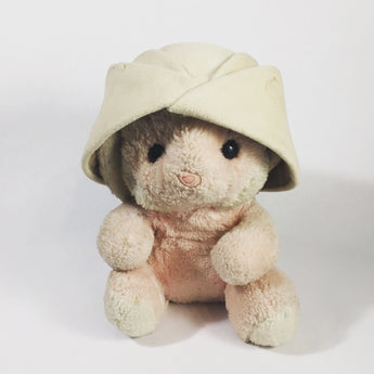 Vintage Light Tan Women's Felt Safari Hat